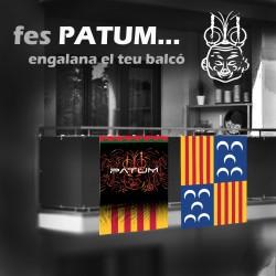 pack 2 Banderes PATUM